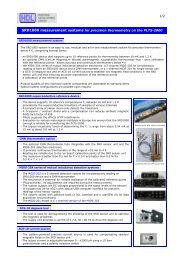 SRD1000 measurement systems for precision thermometry on the ...