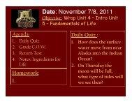 Date: November 7/8, 2011