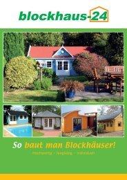 So baut man Blockhäuser! - Dr. Jeschke Holzbau
