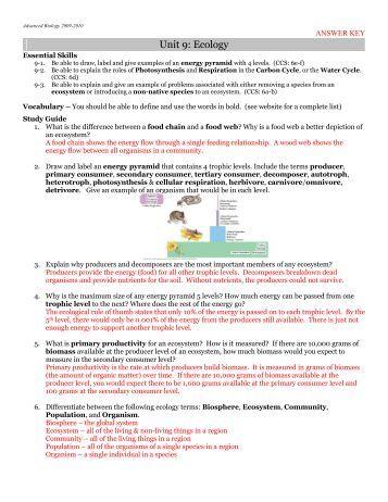 economics study guide answer key