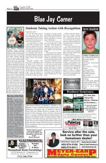 November 15, 2007 - Rock Port School District