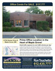 13792 Reimer Drive N Maple Grove, MN - Rock Solid Companies