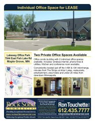 7044 EAst Fish Lake Road, Maple Grove MN - Rock Solid Companies