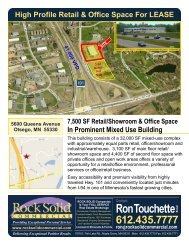 lease info... - Rock Solid Companies