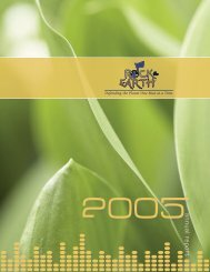 Rock the Earth 2005 Annual Report Now Available!