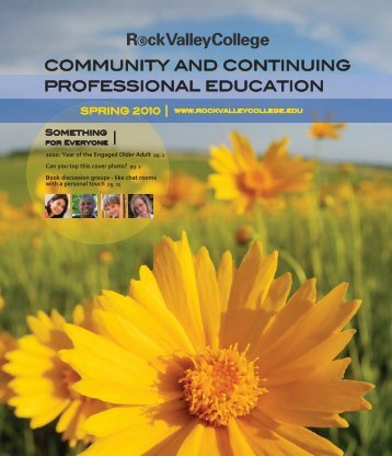 Community and Continuing professional eduCation - Rock Valley ...