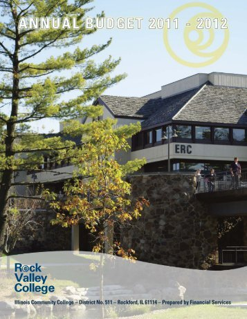 Budget cover 2010-11:Layout 1 - Rock Valley College