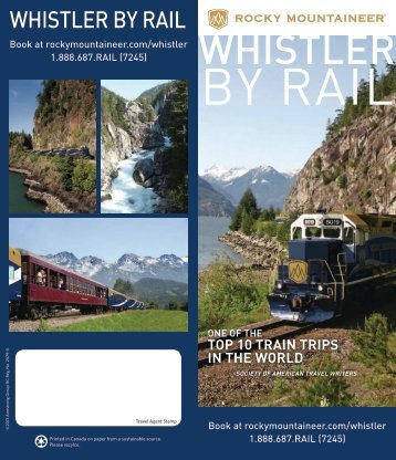 WHISTLER - Rocky Mountaineer