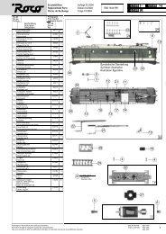 Ersatzteilliste Replacement Parts Pices de Rechange Auflage 01 ...