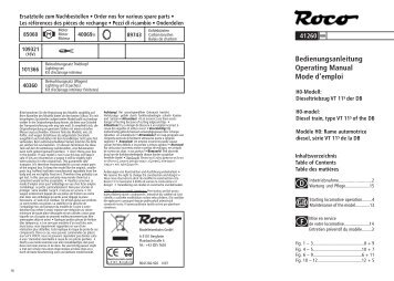 Roco 41260... 16stg.