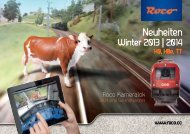 Neuheiten Winter 2013/2014 - Roco