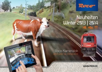 Neuheiten Winter 2013/2014 - Roco