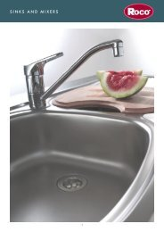 sinks and mixers pg1-20 - Roco
