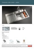 stainless steel sinks - Roco - Page 5