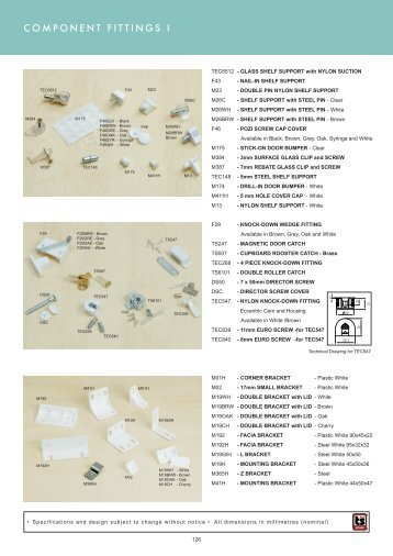 component fittings pg126-127 - Roco