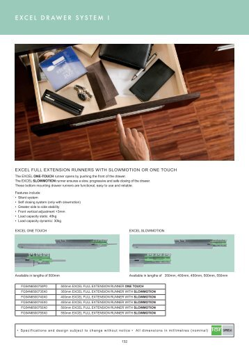 excel drawer system pg132-133 - Roco
