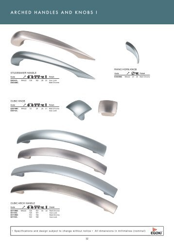 Roco Fittings Catalogue 10 Handle Chapter