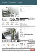 stainless steel sinks - Roco - Page 2