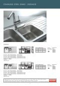 stainless steel sinks - Roco - Page 3