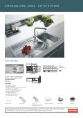 stainless steel sinks - Roco - Page 4
