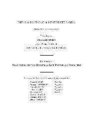 Codes Correcteurs d'Erreurs a Haut Pouvoir de Correction - Inria