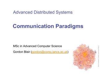 Communication Paradigms - Connect
