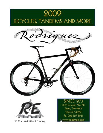 PDF catalog - R+E Cycles