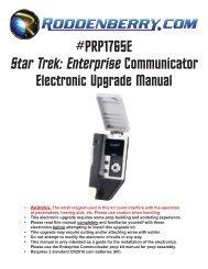 PRP1788 Star Trek TOS Desktop Communicator     - Roddenberry com