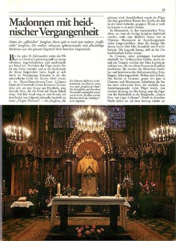 Madonnen mit heidnischer Vergangenheit - Rodiehr