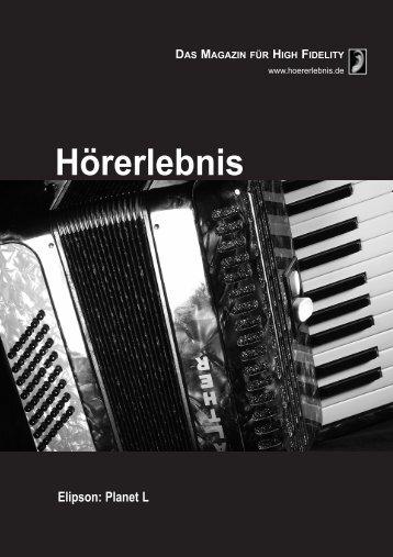 DAS MAGAZIN FÜR HIGH FIDELITY - Connect Audio Vertrieb GmbH