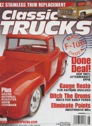 2006 Classic Trucks Jun Vol 15 #6.pdf - RodShows.com