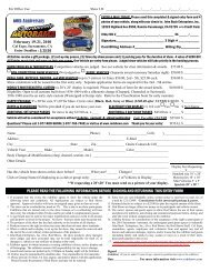 2010 SA Vehicle Entry Form.pub - RodShows.com