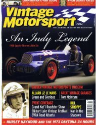 Vintage Motorsport March_April 2008.pdf - RodShows.com