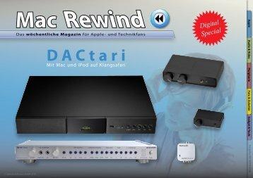 Mac Rewind - Issue 09/2010 (212) - MacTechNews.de - Mac Rewind