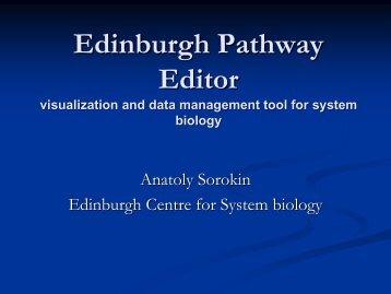 The Edinburgh Pathway Editor