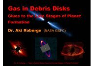 Gas in Debris Disks: Clues to the Late Stages of Planet Formation