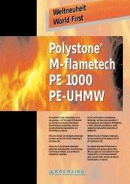Polystone® M-flametech PE 1000 PE-UHMW Polystone ... - Meta-Plast