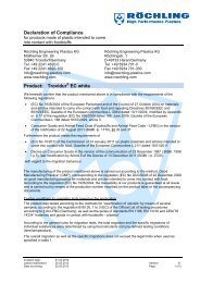 Trovidur EC white EC Compliance - Meta-Plast