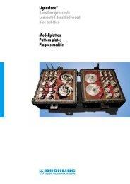 Lignostone - Pattern Plates 102.3 - Permali Composites