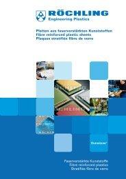 Platten aus faserverstärkten Kunststoffen Fibre reinforced plastic ...