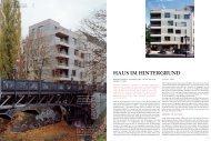 HAUS IM HINTERGRUND - roedig.schop architekten berlin