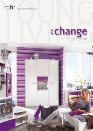 time to change - Röhr-Bush