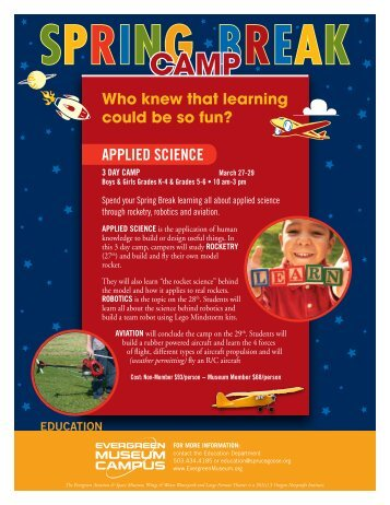 SPRINGCamp - Evergreen Aviation & Space Museum