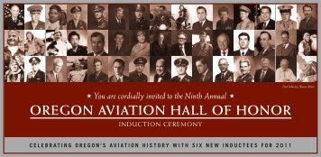 oregon aviation hall of honor - Evergreen Aviation & Space Museum
