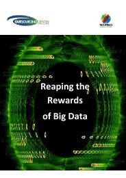 Reaping the Rewards of Big Data