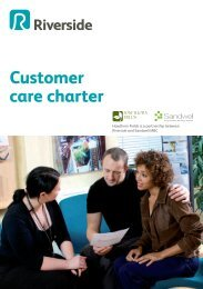 Customer care charter - Riverside