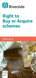 Right to Buy or Acquire schemes - Riverside
