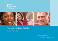 Corporate Plan 2008–11 - Riverside