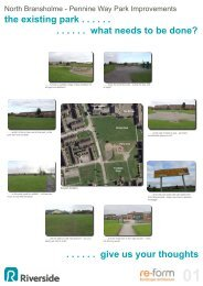 North Bransholme - Pennine Way Park Improvements - Riverside
