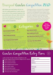 Categories Liverpool Garden Competition 2013 Garden ... - Riverside